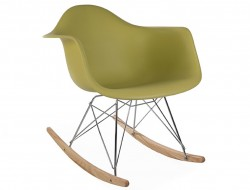 Image de l'article Eames Rocking Chair RAR - Vert moutarde