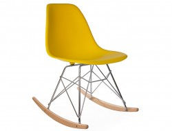 Image de l'article Eames Rocking Chair RSR - Jaune moutarde