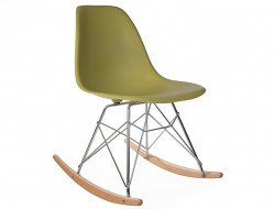 Image de l'article Eames Rocking Chair RSR - Vert moutarde