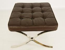 Image of the item Ottoman Barcelona - Marrone scuro