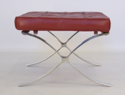 Image of the item Ottoman Barcelona - Rosso scuro