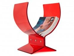 Image de l'article Porte revue Butterfly rouge