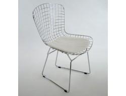 Image of the item Sedia Bertoia Wire Side - Bianco