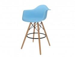 Image of the item Sedia di bar DAB - Azzurro
