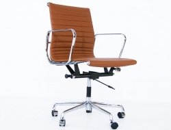 Image of the item Sedia Eames Alu EA117 - Caramello