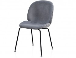 Image of the item Sedia Orville Mr. B - Velour Gris