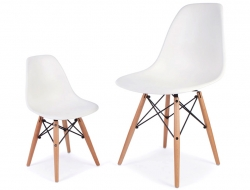 Image of the item Silla Bambino Eames DSW - Bianca