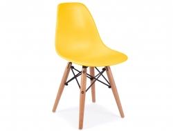Image of the item Silla Bambino Eames DSW - Giallo