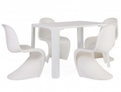 Image de l'article Table enfant Jasmine - 4 chaises Panton