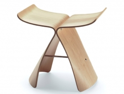 Image de l'article Tabouret Butterfly - Bois Naturel