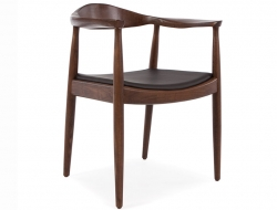 Image de l'article Wegner Chaise The Chair - Marron/Noir