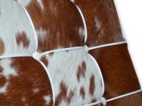 Image de l'article Chaise Barcelona Pony - Marron & blanc
