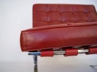 Image de l'article Chaise Barcelona - Rouge foncé