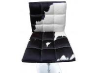 Image de l'article Chaise de Bar Deco10 - Noir/ blanc