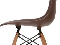 Image de l'article Chaise Eames DSW - Marron