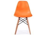 Image de l'article Chaise enfant Eames DSW - Orange