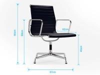 Image de l'article Chaise visiteur EA108 - Gris clair