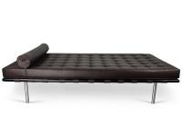 Image of the item Divano letto Barcelona 198 cm - Marrone scuro