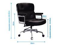 Image de l'article Eames Lobby ES104 - Blanc