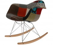 Image of the item Eames Rocking Chair RAR - Patchwork