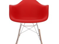 Image of the item Eames Rocking Chair RAR - Rosso vivo