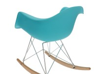 Image of the item Eames Rocking Chair RAR - turchese