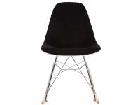 Image of the item Eames RSR Imbottito Lana - Nero