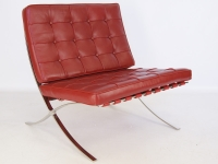 Image of the item Poltrona Barcelona - Rosso scuro