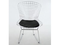 Image of the item Sedia Bertoia Wire Side - nero