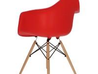 Image of the item Sedia Cosy Legno - Rosso vivo