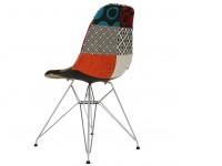 Image of the item Sedia Cosy Metallo imbottito - Patchwork