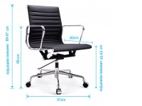 Image of the item Sedia COSY Office Chair 117 - Giallo