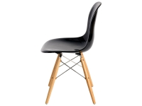 Image of the item Sedia DSW Eames - Nero lucido
