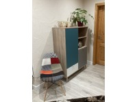 Image of the item Sedia DSW imbottito - Patchwork