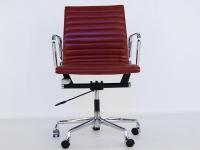 Image of the item Sedia Eames Alu EA117 - Rosso scuro