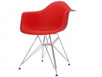 Image of the item Sedia Eames DAR - Rosso vivo