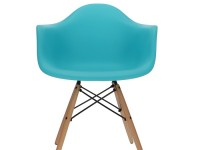Image of the item Sedia Eames DAW - Turchese