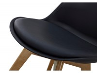 Image of the item Sedia Orville Milou - Nero