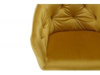 Image of the item Sedia Orville Vinny - Velour Giallo