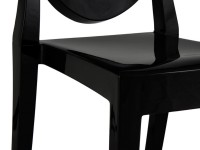 Image of the item Sedia Victoria Ghost - Nero