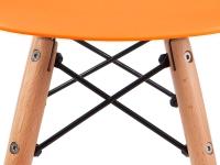 Image of the item Silla Bambino Eames - Arancione