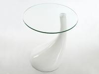 Image of the item Tavolino Scoop - Bianco