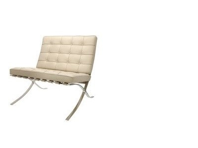 Image de l'article Chaise Barcelona - Gris beige