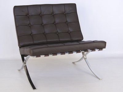 Image de l'article Chaise Barcelona - Marron foncé
