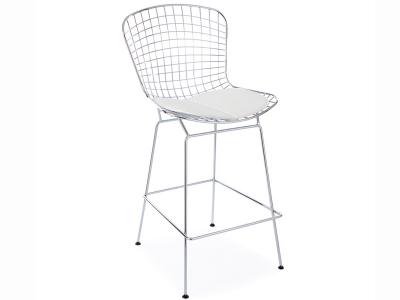 Image de l'article Chaise de bar Bertoia Wire