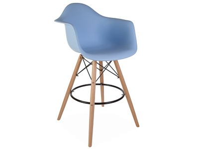 Image de l'article Chaise de bar DAB - Bleu clair