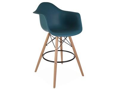 Image de l'article Chaise de bar DAB - Bleu vert