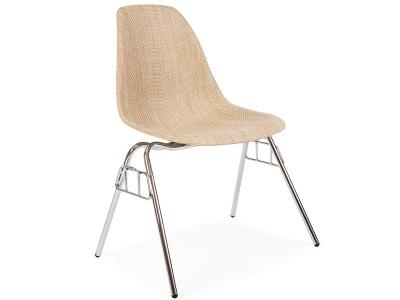 Image de l'article Chaise DSS Texture empilable - Beige