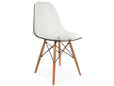 chaise eames dsr transparent. Black Bedroom Furniture Sets. Home Design Ideas
