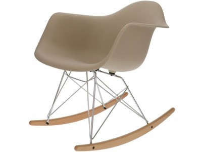 Image of the item Eames Rocking Chair RAR - Beige grigiastro